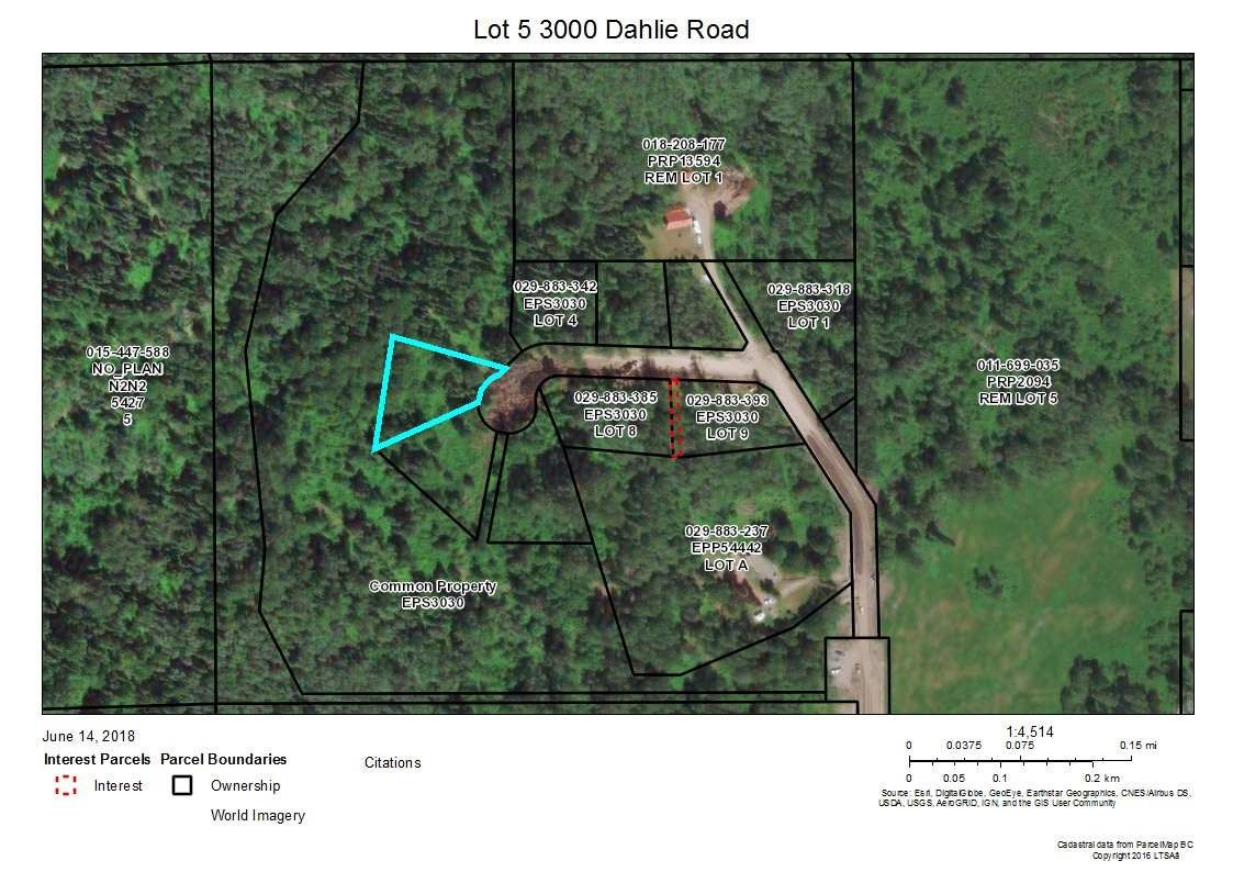 """Main Photo: 5 3000 DAHLIE Road in Smithers: Smithers - Rural Land for sale in """"Mountain Gateway Estates"""" (Smithers And Area (Zone 54))  : MLS®# R2280288"""