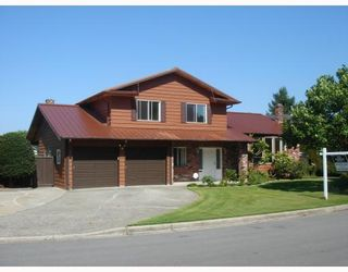 """Photo 1: 8271 OSGOODE Drive in RICHMOND: Saunders House for sale in """"SAUNDERS"""" (Richmond)  : MLS®# V782671"""