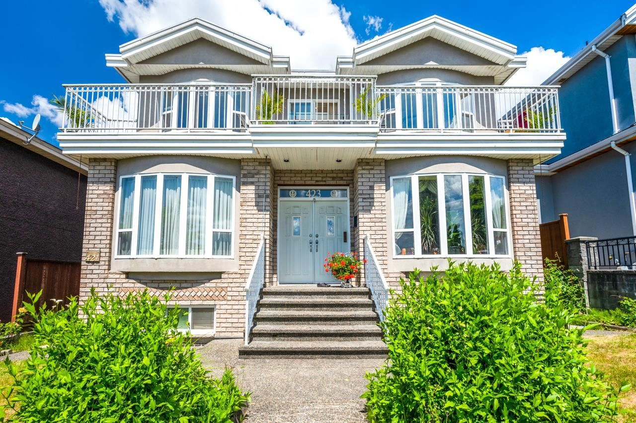 Main Photo: 423 E 49TH Avenue in Vancouver: Fraser VE House for sale (Vancouver East)  : MLS®# R2594214