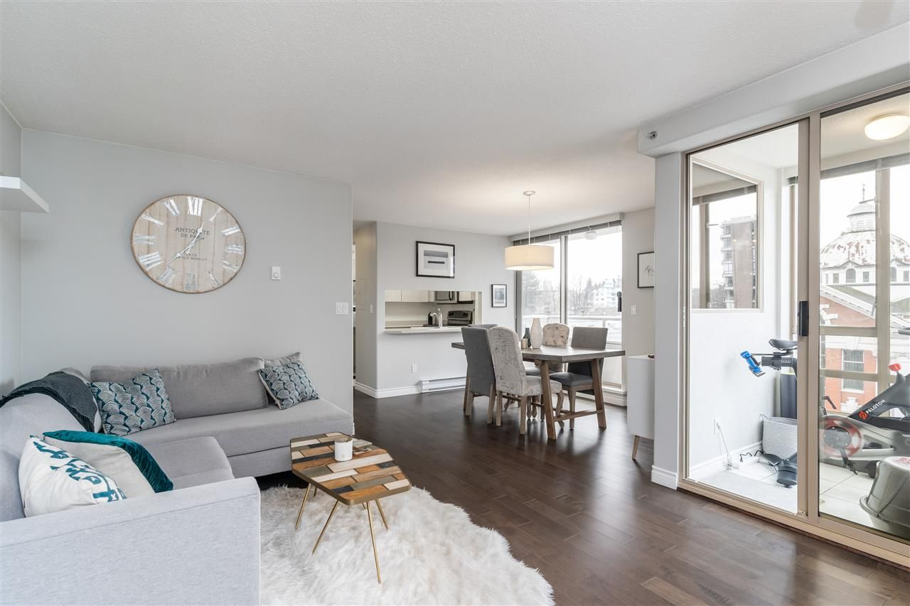 "Main Photo: 602 1405 W 12TH Avenue in Vancouver: Fairview VW Condo for sale in ""The Warrenton"" (Vancouver West)  : MLS®# R2548052"