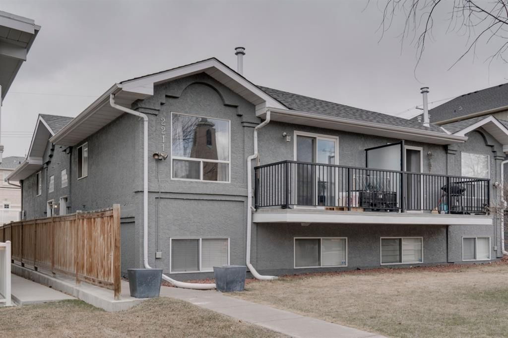 Main Photo: 1 2211 28 Street SW in Calgary: Killarney/Glengarry Row/Townhouse for sale : MLS®# A1089729