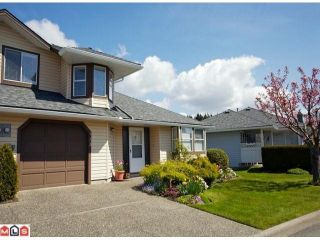 """Photo 1: 113 14280 19A Avenue in Surrey: Sunnyside Park Surrey Townhouse for sale in """"Tiffany Lane"""" (South Surrey White Rock)  : MLS®# F1111117"""