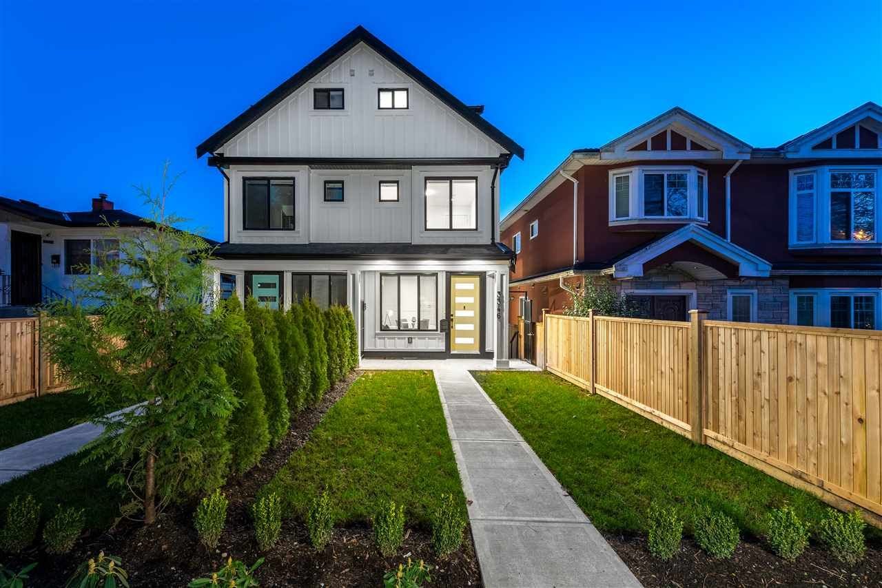 Main Photo: 3348 E 8TH Avenue in Vancouver: Renfrew Heights 1/2 Duplex for sale (Vancouver East)  : MLS®# R2532847