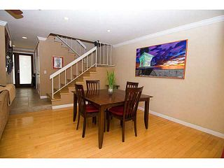 Photo 11: PACIFIC BEACH Townhouse for sale : 3 bedrooms : 856 Diamond Street in San Diego