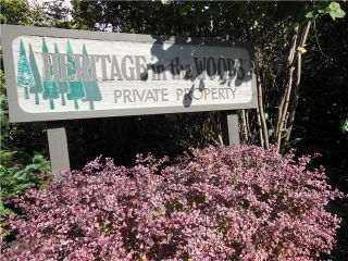 """Photo 20: 955 HERITAGE Boulevard in North Vancouver: Seymour Townhouse for sale in """"Heritage In The Woods"""" : MLS®# V1031683"""