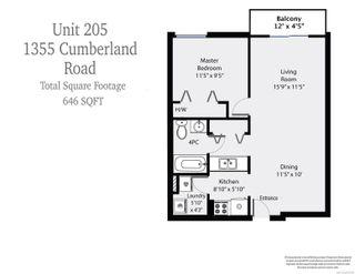 Photo 6: 205 1355 Cumberland Rd in : CV Courtenay City Condo for sale (Comox Valley)  : MLS®# 875079