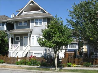 "Photo 1: 2 13160 PRINCESS Street in Richmond: Steveston South Townhouse for sale in ""LONDON LANDING"" : MLS®# V1076841"