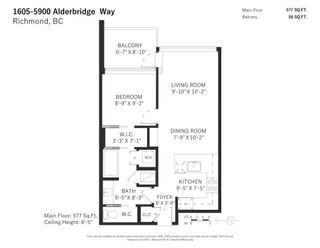 "Photo 19: 1605 5900 ALDERBRIDGE Way in Richmond: Brighouse Condo for sale in ""LOTUS"" : MLS®# R2603784"