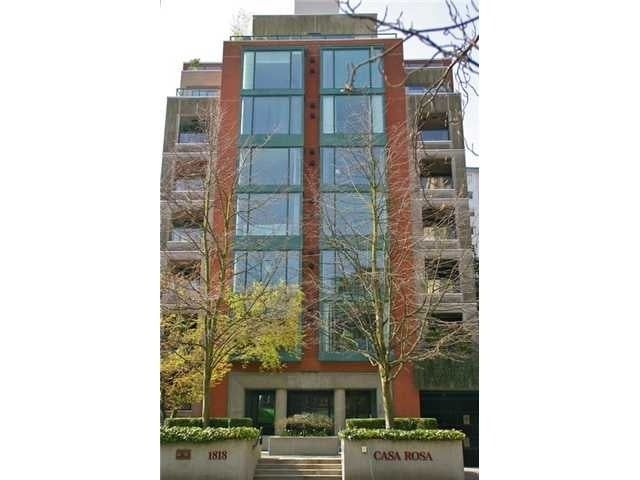 Main Photo: 402 1818 ROBSON STREET in Vancouver: West End VW Condo for sale (Vancouver West)  : MLS®# R2377698