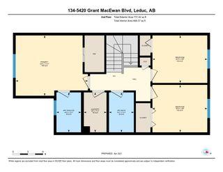 Photo 35: 134 5420 GRANT MACEWAN Boulevard: Leduc Townhouse for sale : MLS®# E4236625