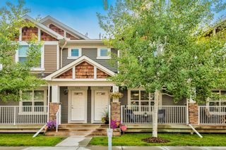 Main Photo: 206 Cranberry Park SE in Calgary: Cranston Row/Townhouse for sale : MLS®# A1132859