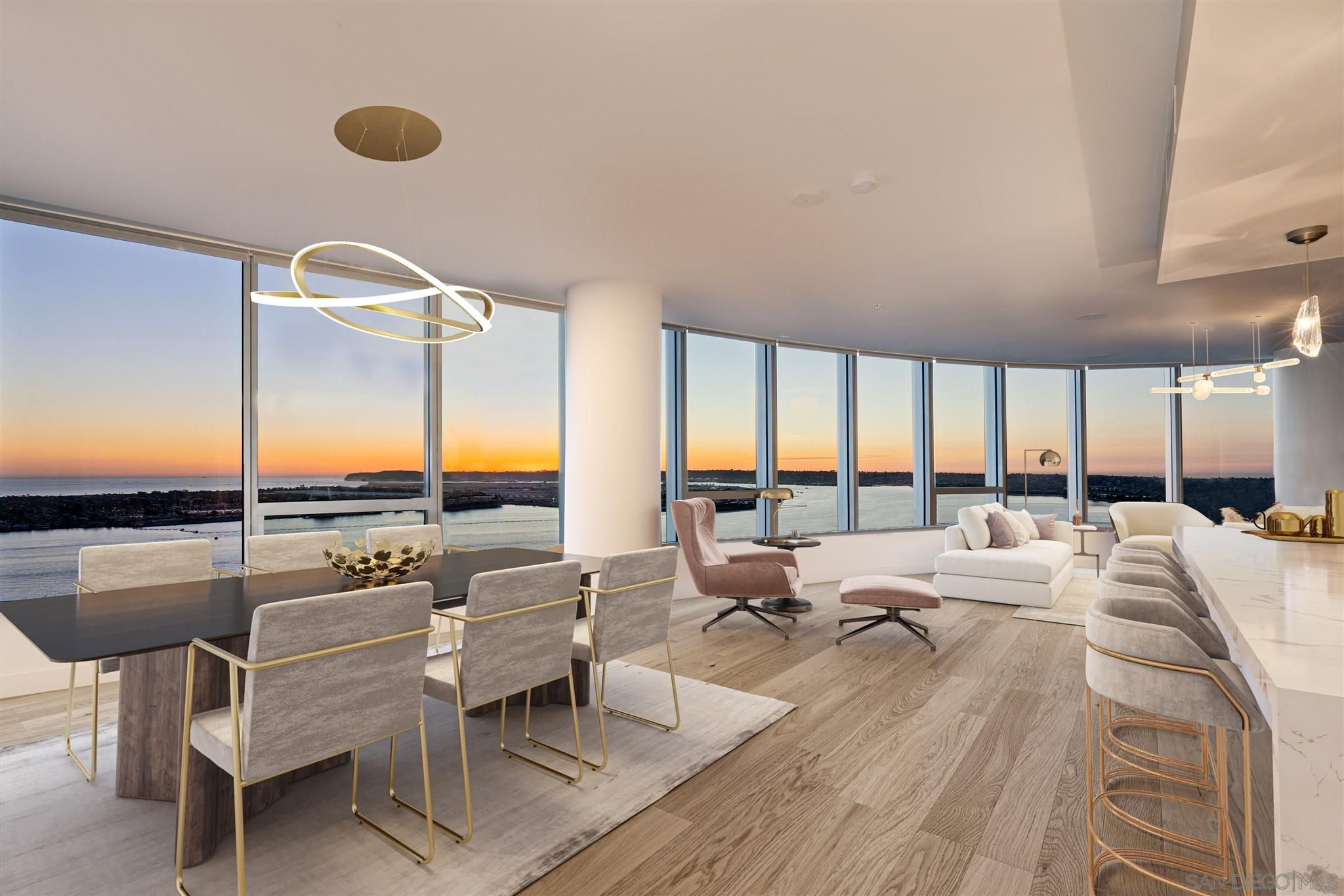 Main Photo: DOWNTOWN Condo for sale : 3 bedrooms : 888 W E Street #3502 in San Diego