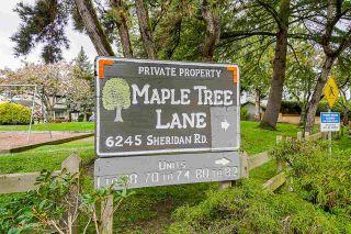 "Photo 1: 71 6245 SHERIDAN Road in Richmond: Woodwards Townhouse for sale in ""Maple Tree Lane"" : MLS®# R2577465"
