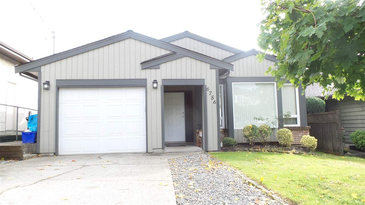 Main Photo: 6756 197 STREET in Langley: Willoughby Heights House for sale : MLS®# R2116501