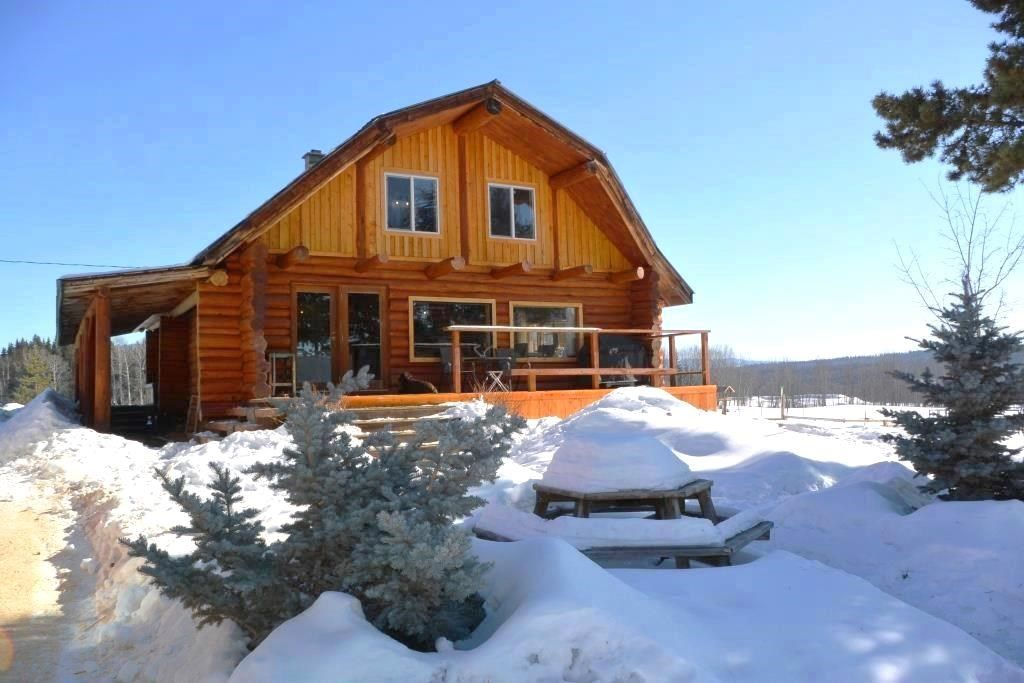 Main Photo: 14547 Fawn Road Smithers BC - Hobby Farm for Sale