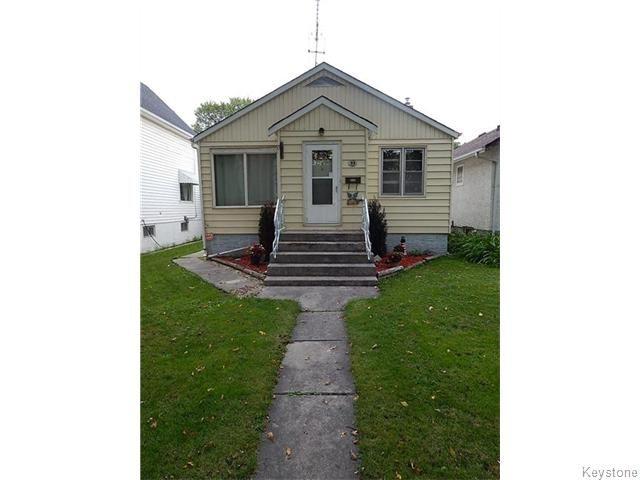 Main Photo: 99 Carmen Avenue in WINNIPEG: East Kildonan Residential for sale (North East Winnipeg)  : MLS®# 1523761