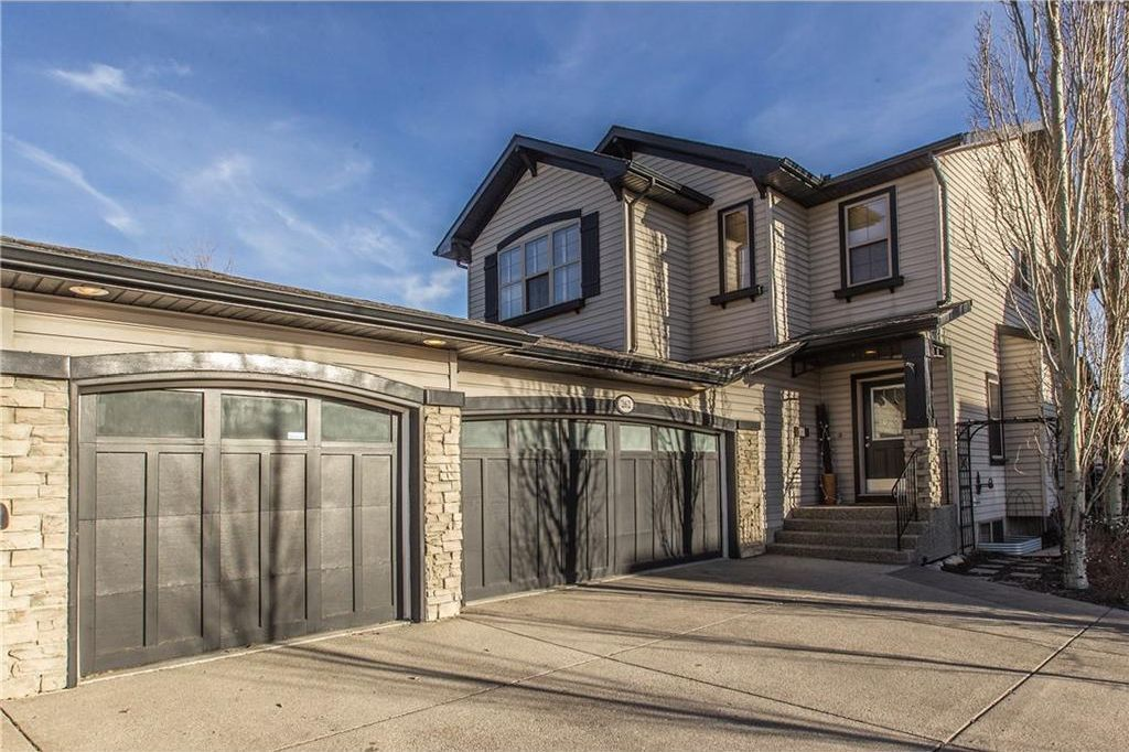 Wow!!  Oversized Heated triple car garage and the driveway can accommodate 4 cars