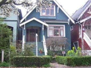 Photo 1: 2732 W 7TH AV in Vancouver: Kitsilano House for sale (Vancouver West)  : MLS®# V1008075