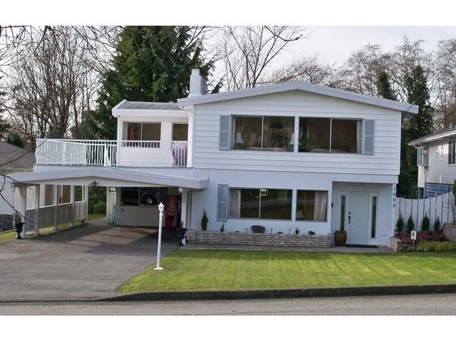 Main Photo: 1605 HOWARD Avenue in Burnaby: Parkcrest House for sale (Burnaby North)  : MLS®# V1105600