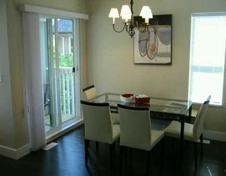 """Photo 4: 7833 HEATHER Street in Richmond: McLennan North Townhouse for sale in """"Belmont"""" : MLS®# V629931"""