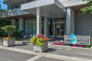 """Photo 1: 806 2289 YUKON Crescent in Burnaby: Brentwood Park Condo for sale in """"WATERCOLORS"""" (Burnaby North)  : MLS®# R2599019"""