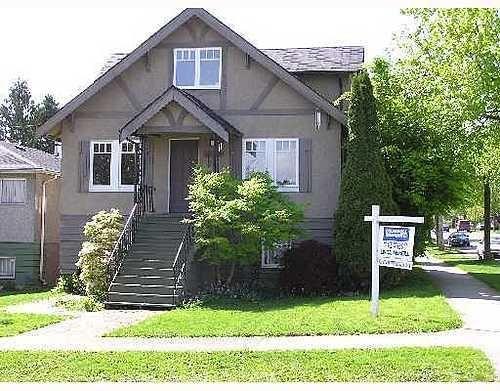 Main Photo: 3102 3RD Ave: Renfrew VE Home for sale ()  : MLS®# V646159