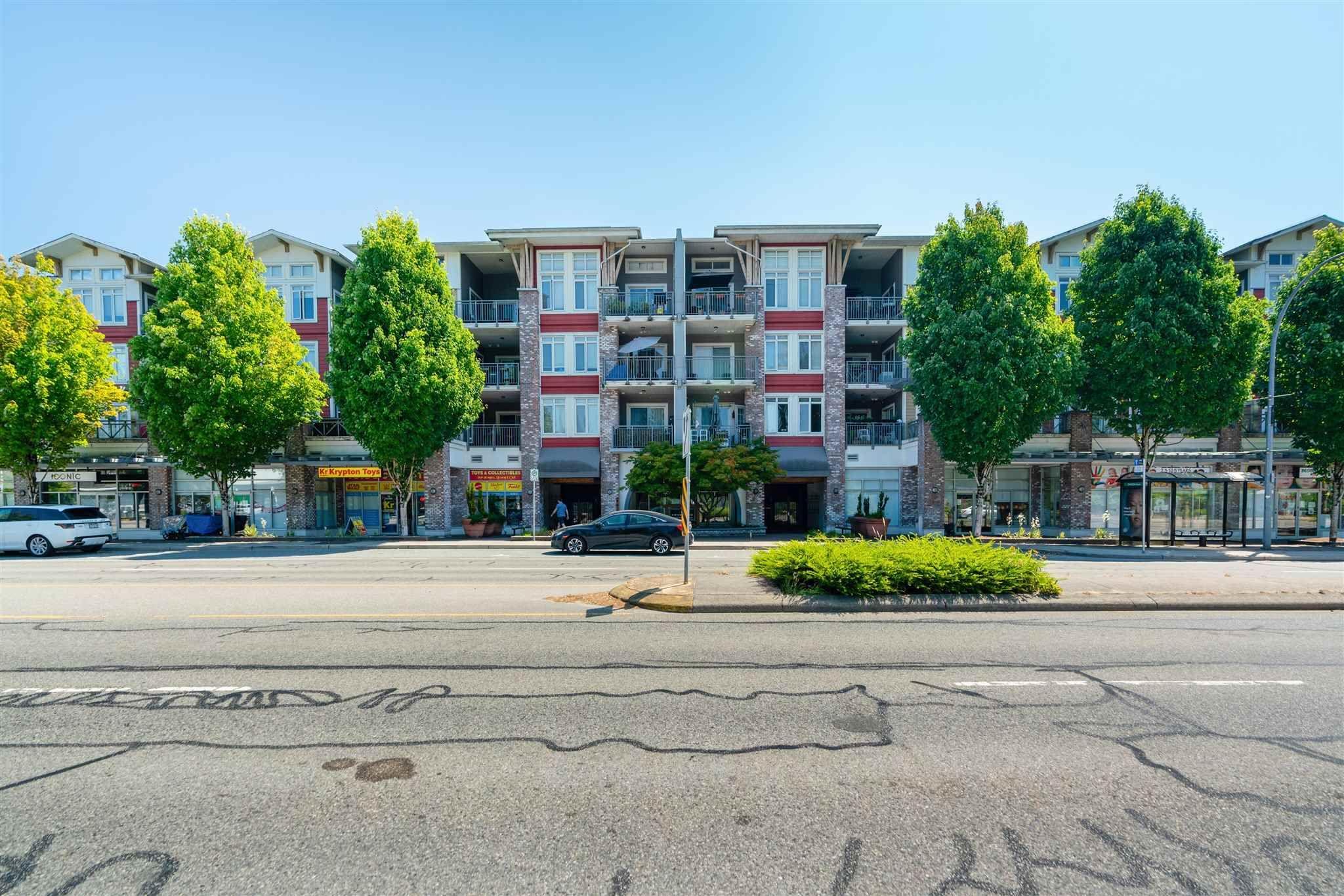 "Main Photo: 318 12350 HARRIS Road in Pitt Meadows: Mid Meadows Condo for sale in ""KEYSTONE"" : MLS®# R2599897"