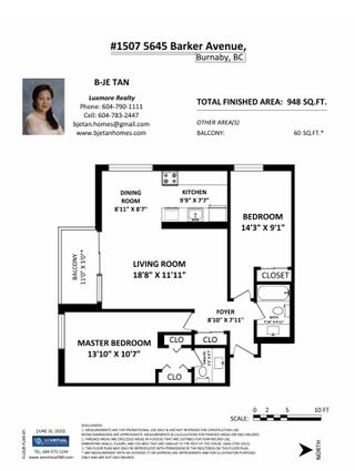 """Photo 27: 1507 5645 BARKER Avenue in Burnaby: Central Park BS Condo for sale in """"Central Park Place"""" (Burnaby South)  : MLS®# R2465224"""