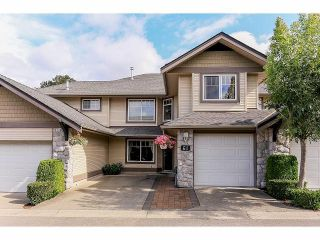 Photo 1: 61 8888 151ST Street in Surrey: Bear Creek Green Timbers Townhouse for sale : MLS®# F1418058