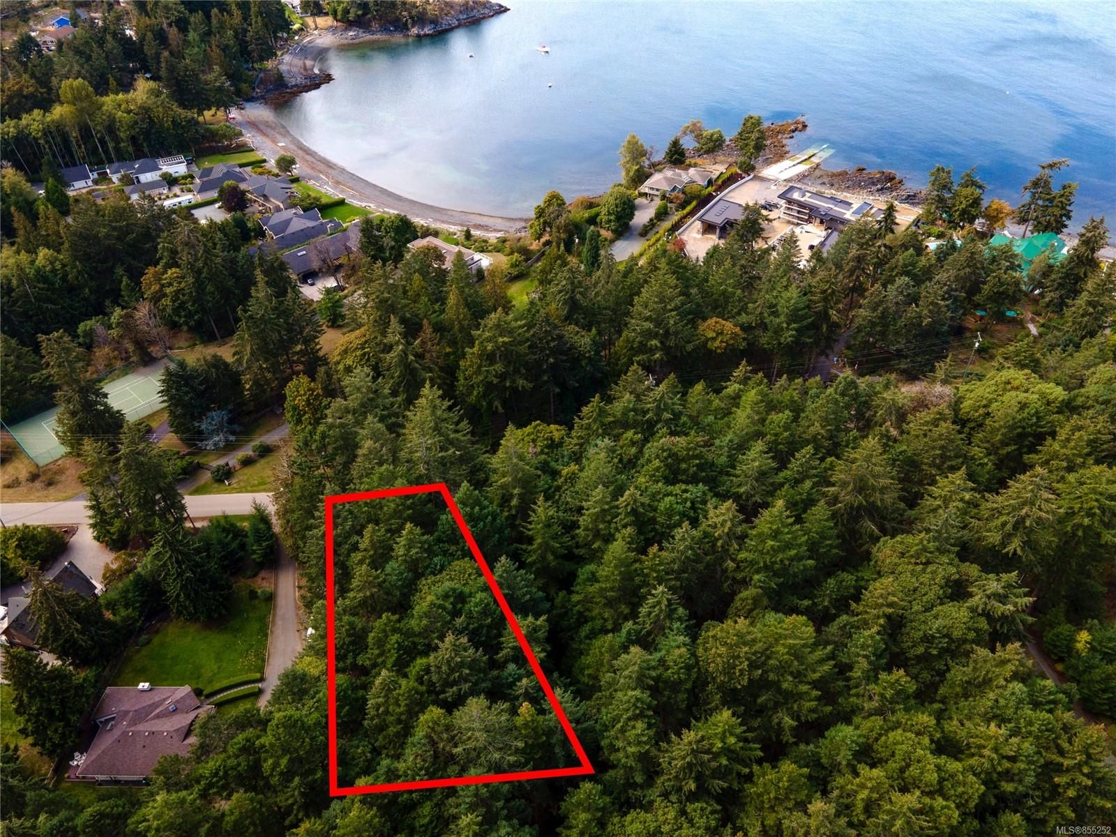 Main Photo: Lot 1 Dorcas Point Rd in : PQ Nanoose Land for sale (Parksville/Qualicum)  : MLS®# 855252