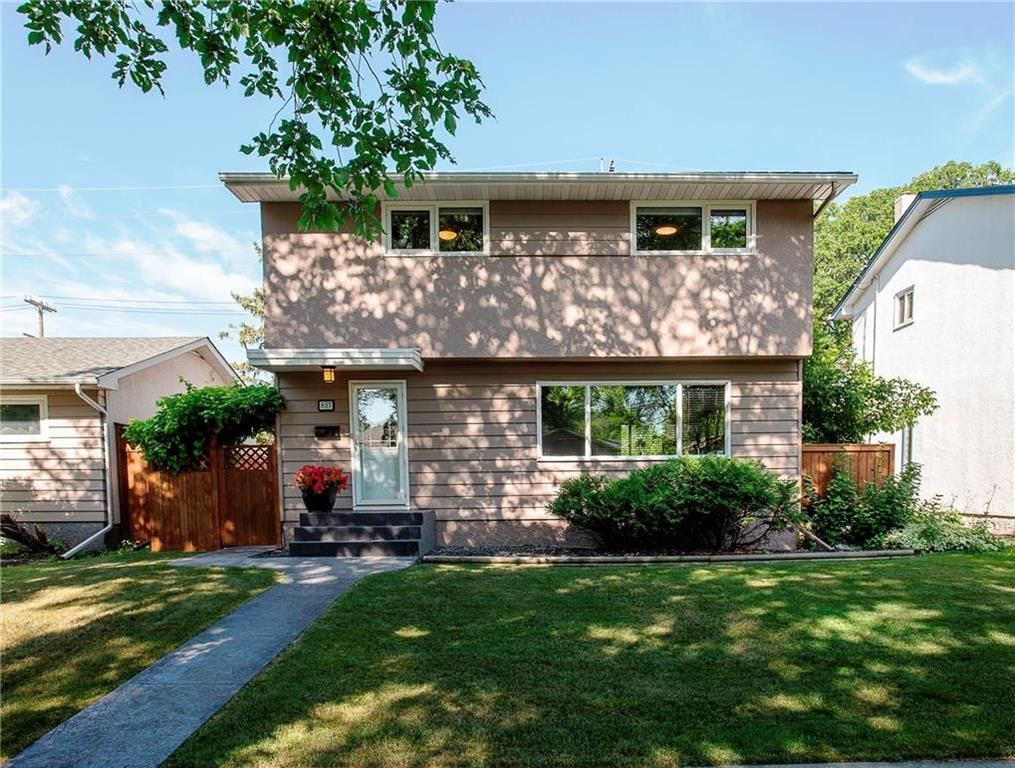 Main Photo: 837 Borebank Street in Winnipeg: River Heights South Residential for sale (1D)  : MLS®# 202016662