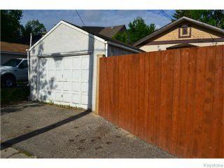 Photo 17: 294 Belvidere Street in Winnipeg: St James Residential for sale (West Winnipeg)  : MLS®# 1614084