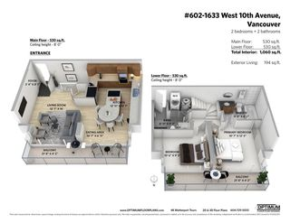 """Photo 23: 602 1633 W 10TH Avenue in Vancouver: Fairview VW Condo for sale in """"Hennessy House"""" (Vancouver West)  : MLS®# R2584131"""