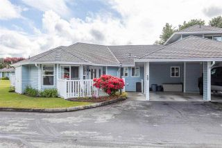 """Photo 1: 50 34899 OLD CLAYBURN Road in Abbotsford: Abbotsford East Townhouse for sale in """"Crown Point Villas"""" : MLS®# R2588503"""