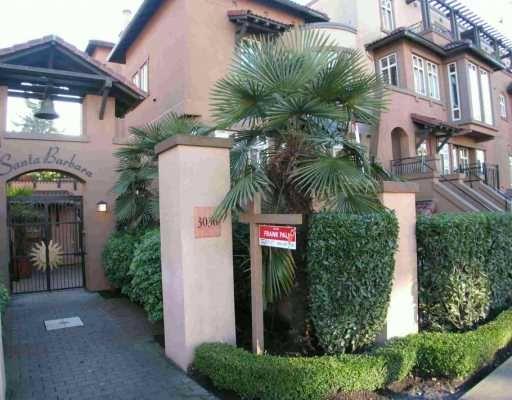 """Main Photo: 10 3036 W 4TH AV in Vancouver: Kitsilano Condo for sale in """"SANTA BARBARA"""" (Vancouver West)  : MLS®# V577671"""