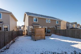 Photo 41: 2726 Sparrow Place in Edmonton: Zone 59 House Half Duplex for sale : MLS®# E4232767