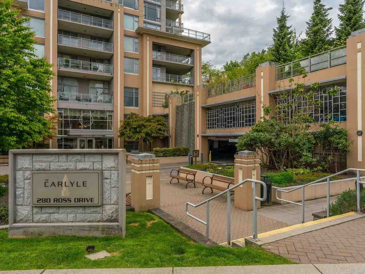 """Main Photo: 2002 280 ROSS Drive in New Westminster: Fraserview NW Condo for sale in """"The Carlyle"""" : MLS®# R2577017"""
