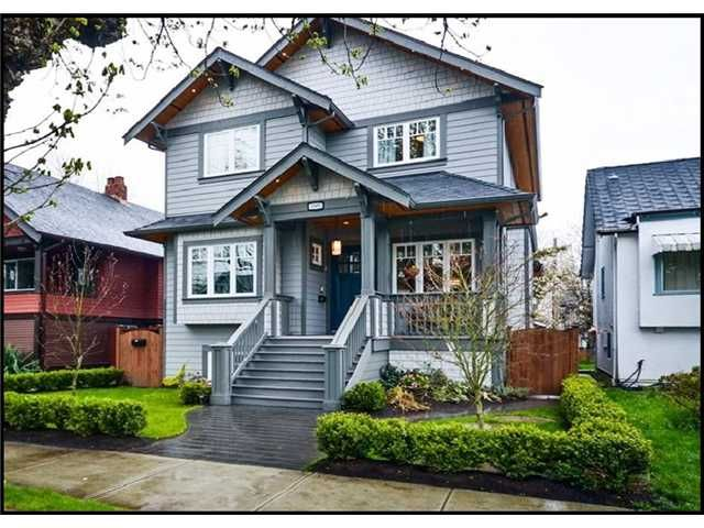 Main Photo: 3309 W 12TH AV in Vancouver: Kitsilano House for sale (Vancouver West)  : MLS®# V1009106