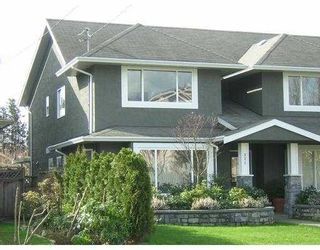 Photo 1: 321 E 11TH Street in North Vancouver: Central Lonsdale 1/2 Duplex for sale : MLS®# V637729