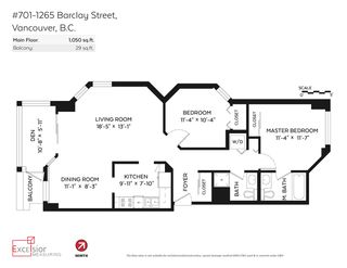 """Photo 20: 701 1265 BARCLAY Street in Vancouver: West End VW Condo for sale in """"1265 Barclay"""" (Vancouver West)  : MLS®# R2089582"""