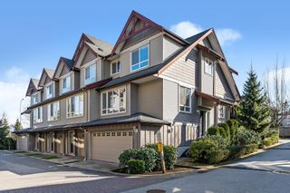 "Photo 1: 17 16772 61 Avenue in Surrey: Cloverdale BC Townhouse for sale in ""LAREDO"" (Cloverdale)  : MLS®# R2542770"