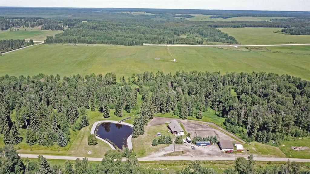 Main Photo: 62060 Township Road 43-1 in Rural Clearwater County: NONE Agri-Business for sale : MLS®# A1070056