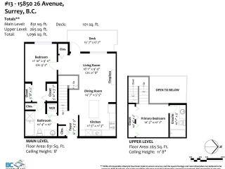 """Photo 30: 13 15850 26 Avenue in Surrey: Grandview Surrey Condo for sale in """"SUMMIT HOUSE - MORGAN CROSSING"""" (South Surrey White Rock)  : MLS®# R2602091"""