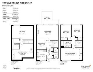 Photo 22: 2895 NEPTUNE Crescent in Burnaby: Simon Fraser Hills Townhouse for sale (Burnaby North)  : MLS®# R2589688