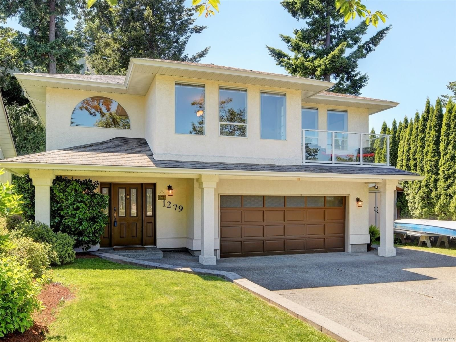 Main Photo: 1279 Knockan Dr in : SW Strawberry Vale House for sale (Saanich West)  : MLS®# 877596