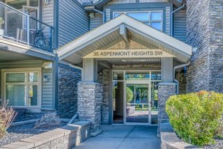Photo 2: 408 35 Aspenmont Heights SW in Calgary: Aspen Woods Apartment for sale : MLS®# A1149292