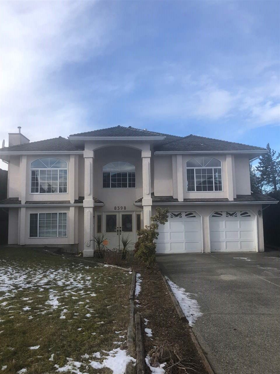 "Main Photo: 8398 MILLER Crescent in Mission: Mission BC House for sale in ""WEST HEIGHTS"" : MLS®# R2339528"