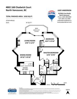 """Photo 34: 802 168 CHADWICK Court in North Vancouver: Lower Lonsdale Condo for sale in """"CHADWICK COURT"""" : MLS®# R2565125"""