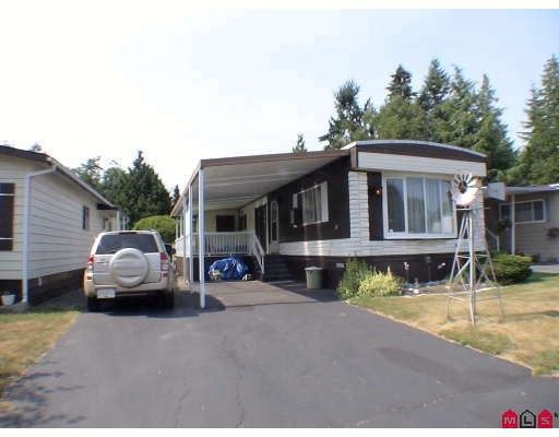 """Main Photo: 159 3665 244TH Street in Langley: Otter District Manufactured Home for sale in """"LANGLEY GROVE ESTATES"""" : MLS®# F2928075"""