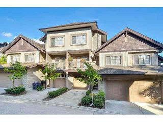 """Photo 1: 18 6238 192ND Street in Surrey: Cloverdale BC Townhouse for sale in """"BAKERVIEW TERRACE"""" (Cloverdale)  : MLS®# F1420554"""